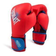 Боксерские перчатки детские Everlast Prospect красн.