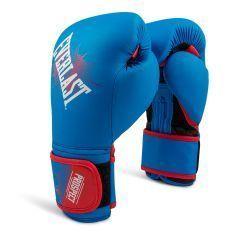 Боксерские перчатки детские Everlast Prospect син.