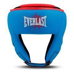 Боксерский шлем детский Everlast Prospect син.