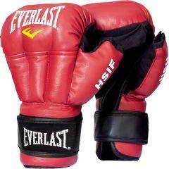 Перчатки для рукопашного боя Everlast HSIF PU красн.