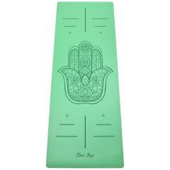 Каучуковый коврик для йоги Devi Yoga Hamsa
