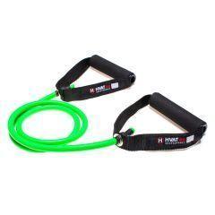 Трубчатый эспандер с ручками HVAT зеленый 4 кг