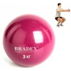 Медбол Bradex, 3 кг