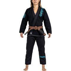 Женское кимоно (ги) для БЖЖ GR1PS Primero Competition - черный