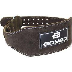 Тяжелоатлетический пояс BoyBo Premium - черный/коричневый