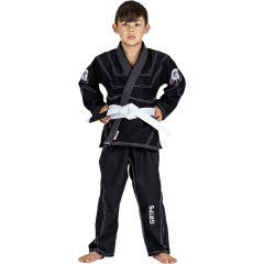 Детское кимоно (ги) для БЖЖ Gr1ps Leo Cor - черный