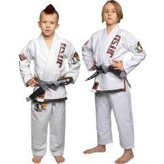 Детское кимоно (ги) для БЖЖ Jitsu Monkey - белый