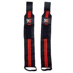 Кистевые бинты Noma Fitness - черный/красный