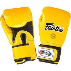 Боксерские перчатки Fairtex BGV1 Breathable Yellow