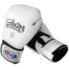 Боксерские перчатки Fairtex BGV1 Breathable White