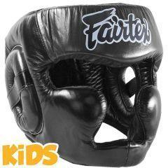 Детский боксерский шлем Fairtex HG15