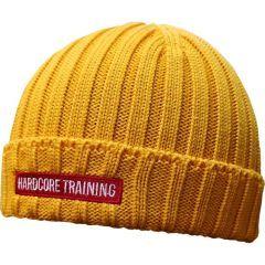 Шапка Hardcore Training Classic Yellow