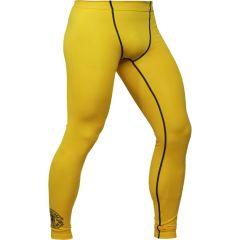 Компрессионные штаны Hardcore Training Perfect Yellow