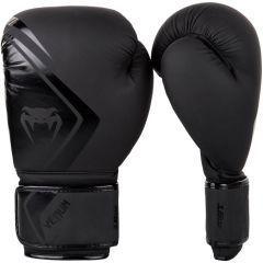 Боксерские перчатки Venum Contender 2.0 Black/Black