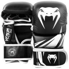 Гибридные ММА перчатки Venum 3.0 Black/White