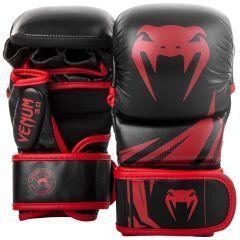 Гибридные ММА перчатки Venum 3.0 Black/Red