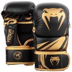 Гибридные ММА перчатки Venum 3.0 Black/Gold