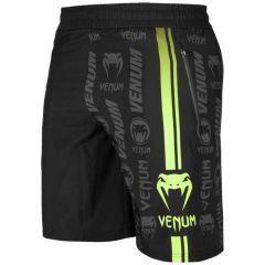 Спортивные шорты Venum Logos Black/Neo Yellow