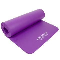 Коврик для фитнеса Атлетика 24 NBR 12 мм фиолетовый