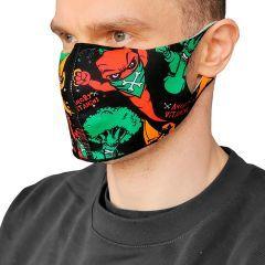 Защитная неопреновая маска Hardcore Training Angry Vitamins