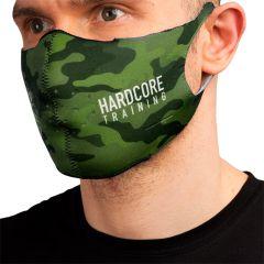 Защитная неопреновая маска Hardcore Training Green Camo