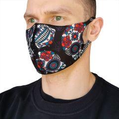 Защитная неопреновая маска Hardcore Training Santa Muerte
