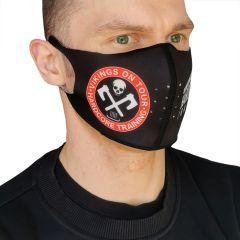 Защитная неопреновая маска Hardcore Training Vikings On Tour