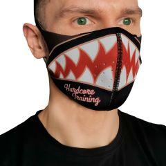 Защитная неопреновая маска Hardcore Training Bomb-Shark