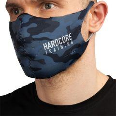Многоразовая неопреновая маска Hardcore Training Night Camo