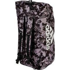 Спортивная сумка Adidas Combat Camo L черно-камуфляжная