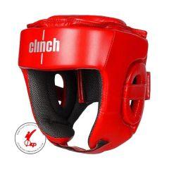 Боксерский шлем Clinch Kick красный