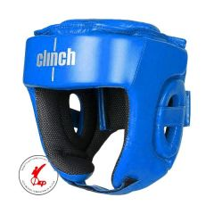 Боксерский шлем Clinch Kick синий