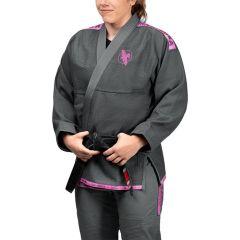 Кимоно (ги) для БЖЖ Hayabusa Lightweight Grey/Pink