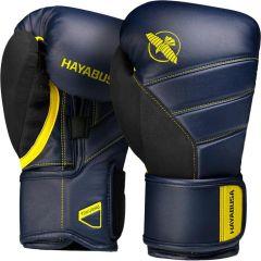 Боксерские перчатки Hayabusa T3 Navy/Yellow
