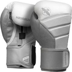 Боксерские перчатки Hayabusa T3 White/Grey