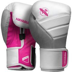 Боксерские перчатки Hayabusa T3 White/Pink