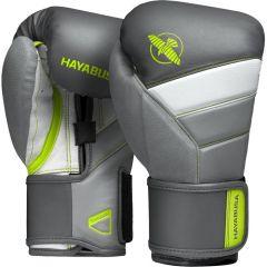 Боксерские перчатки Hayabusa T3 Charcoal/Lime