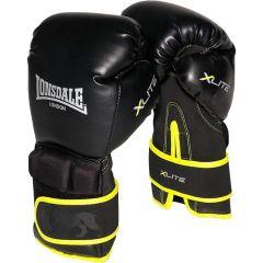 Боксерские перчатки Lonsdale Black/Acid Green