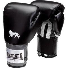 Боксерские перчатки Lonsdale Black/Grey