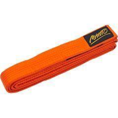 Детский пояс для кимоно БЖЖ Manto Tag оранжевый