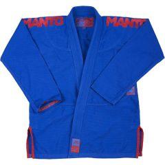 Кимоно (ги) для БЖЖ Manto X3 Blue V2 - синий