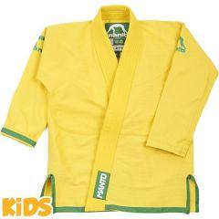 Детское кимоно (ги) для БЖЖ Manto Junior 2.0 - желтый