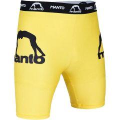 Компрессионные шорты Manto VT Dual Yellow