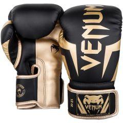 Боксерские перчатки Venum Elite Black/Gold