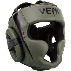 Боксерский шлем Venum Elite Khaki/Black