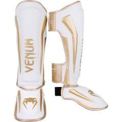 ММА шингарды Venum Elite White/Gold