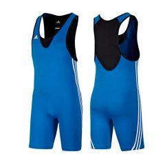 Трико борцовское Adidas Base Wrestler синее