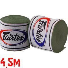 Боксерские бинты Fairtex Green Olive 4.5м
