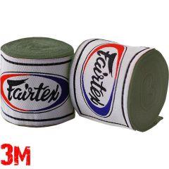 Боксерские бинты Fairtex Green Olive 3м