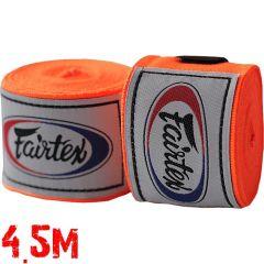 Боксерские бинты Fairtex Orange 4.5м